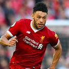Alex Oxlade-Chamberlain's Liverpool comeback for the under-23s was cut prematurely short (Anthony Davlin/PA)