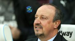 Newcastle boss Rafael Benitez believes he is still improving as a manager (Paul Harding/PA)