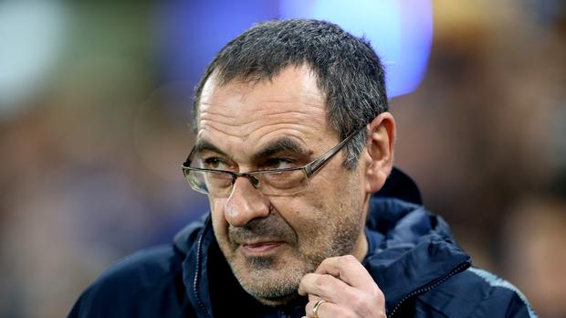 Maurizio Sarri's Chelsea have won three games in a row (Steven Paston/PA)
