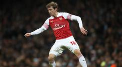 Nacho Monreal expects a tough fight for Champions League qualification (Nick Potts/PA)