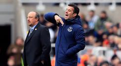 Everton manager Marco Silva (right) was left fuming as Newcastle snatched a 3-2 victory at St James' Park (Owen Humphreys/PA)