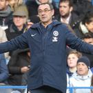 Maurizio Sarri has faith his side will finish in the top four (Adam Davy/PA)