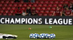 Victory for Liverpool over Bayern Munich would mean there are four English clubs in the Champions League quarter-finals (Peter Byrne/PA)