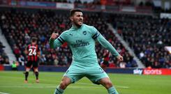 Sead Kolasinac believes Arsenal have to start better to improve their chances of Europa League success (John Walton/PA)