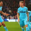 Newcastle rescued a point late on (Mark Kerton/PA)