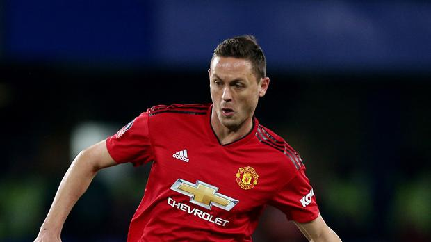 Nemanja Matic has urged Manchester United not to let their bid for a top-four finish in the Premier League slip (Nigel French/PA)