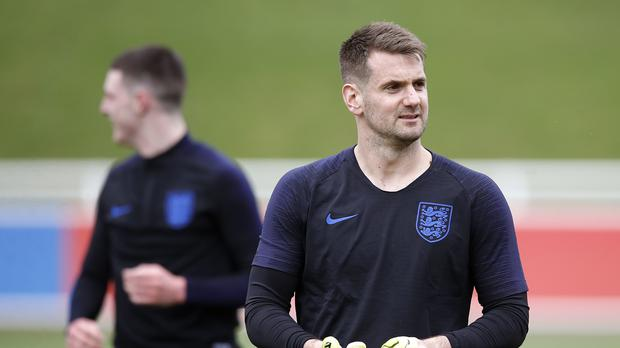 Tom Heaton is pushing to become England's number one (Martin Rickett/PA)