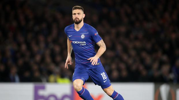 Chelsea's Olivier Giroud has revealed his frustration at his lack of playing time (Adam Davy/PA)