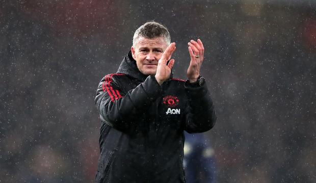 Manchester United's Solskjaer targets Prem title issues warning to players