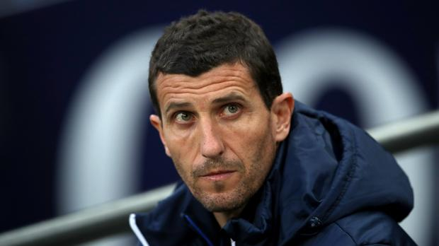 Javi Gracia wants to spoil Manchester United's party (Nick Potts/PA)