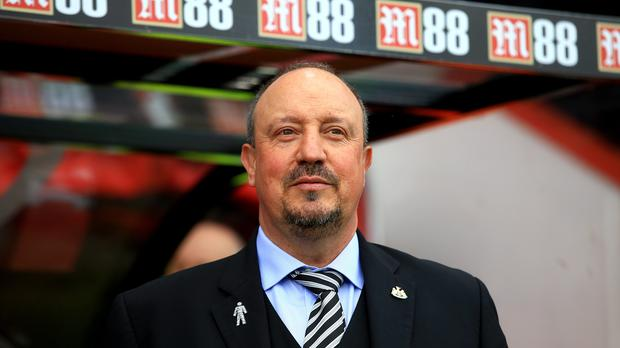Newcastle manager Rafael Benitez will not allow his players to relax (Mark Kerton/PA)