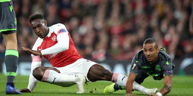 Danny Welbeck is recovering from a broken ankle (Nick Potts/PA)
