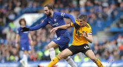 Gonzalo Higuain has found it difficult to adapt to the physicality of the Premier League (Adam Davy/PA)
