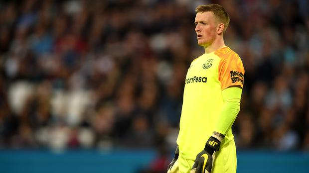 Everton are investigating an alleged incident involving Jordan Pickford (Daniel Hambury/PA)