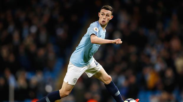Phil Foden impressed on his first Premier League start for Manchester City (Martin Rickett/PA)