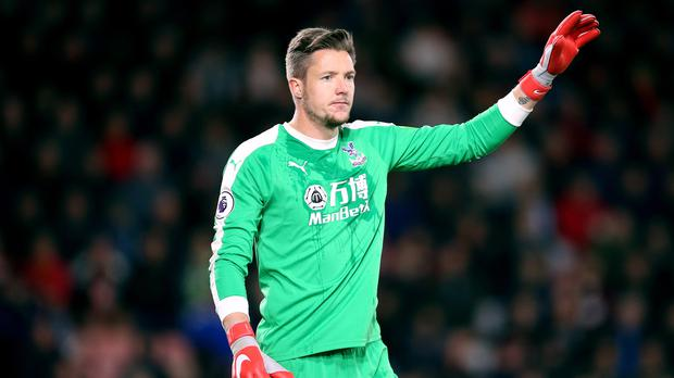 Wayne Hennessey had denied making the gesture (Nigel French/PA)