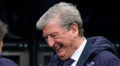 Crystal Palace manager Roy Hodgson was a happy man after seeing skipper Luka Milivojevic clinch victory at Newcastle (Owen Humphreys/PA)