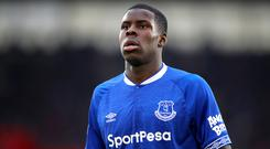 On-loan defender Kurt Zouma will not make a decision on his future until the end of the season (Adam Davy/PA)