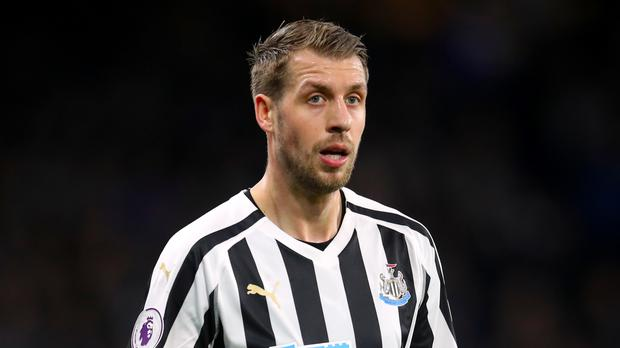 Florian Lejeune will miss the remainder of the season (Adam Davy/PA)