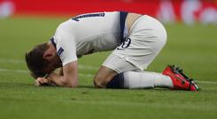 Harry Kane could face a lengthy absence (Frank Augstein/AP)