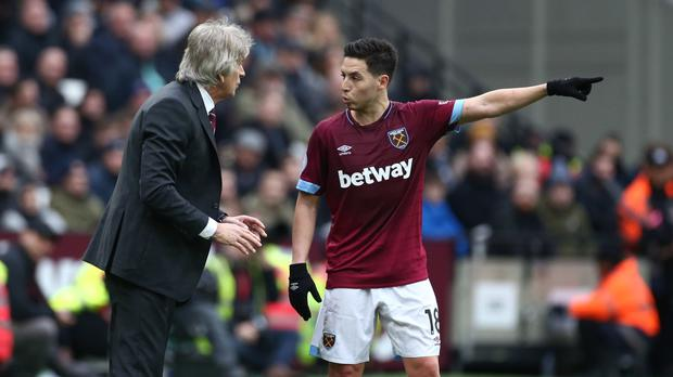 Nasri picks up another niggle as his West Ham hopes hang in balance