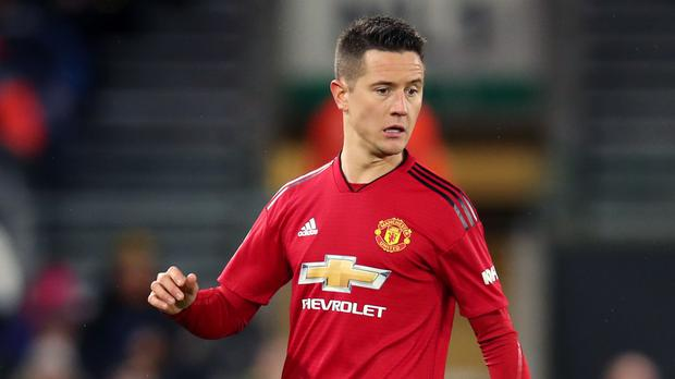 Ander Herrera is believed to have committed to Paris St Germain over another option (Chris Radburn/PA)