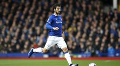 Andre Gomes will miss Everton's next three games (Martin Rickett/PA)