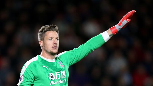 Crystal Palace goalkeeper Wayne Hennessey said he did now know what a Nazi salute was after being charged with making the offensive gesture (Nigel French/PA)