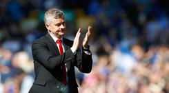 Manchester United boss Solskjaer was forced to apologise to the visiting fans after last Sunday's 4-0 defeat at Everton (Martin Rickett/PA)
