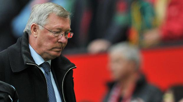 Sir Alex Ferguson had some bad days as Manchester United manager (Martin Rickett/PA)