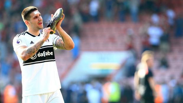 Aleksandar Mitrovic was Fulham's match-winner on Saturday (Mark Kerton/PA)