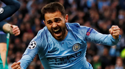 Silva played an influential part as City gained a measure of revenge for their midweek Champions League exit at the hands of Spurs. Photo: Reuters