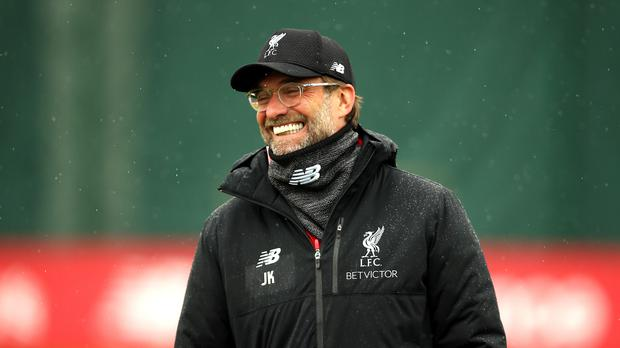 Liverpool manager Jurgen Klopp says his focus is not on title rivals Manchester City's trip to Old Trafford on Wednesday (Nigel French/PA)