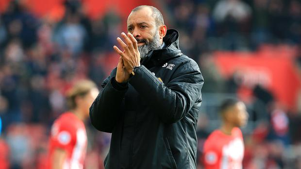 Wolves manager Nuno Espirito Santo is ready to let his players off the leash (Mark Kerton/PA)