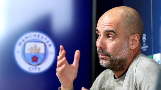 Pep Guardiola does not think Manchester City fear Old Trafford (Martin Rickett/PA)