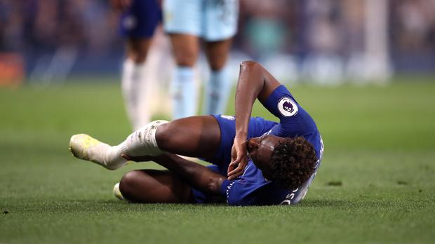 Callum Hudson-Odoi will have surgery on a ruptured Achilles tendon (Adam Davy/PA)