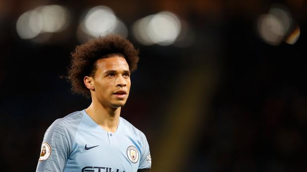 Leroy Sane feels Manchester City now have the bit between their teeth (Martin Rickett/PA)