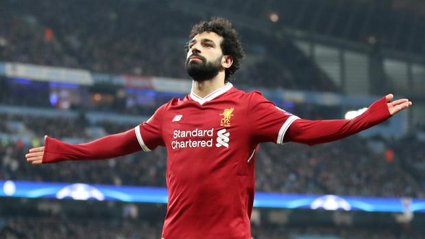 Mohamed Salah has been praised by Liverpool manager for being an inspirational figure (Nick Potts/PA)