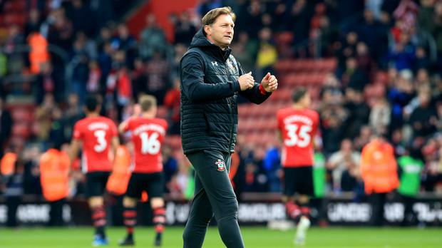 Southampton manager Ralph Hasenhuttl wants his side to finish the job and secure top-flight survival (Mark Kerton/PA)