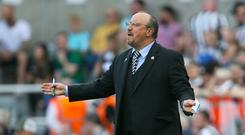 Newcastle manager Rafael Benitez does not want another relegation battle (Richard Sellers/PA)