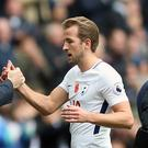 Mauricio Pochettino hopes Harry Kane will be able to play in the Champions League final if Tottenham get there (Nigel French/PA)