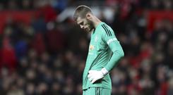 David de Gea had a bad day against Chelsea (AP)