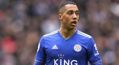 Leicester will look to keep Youri Tielemans. (John Walton/PA)