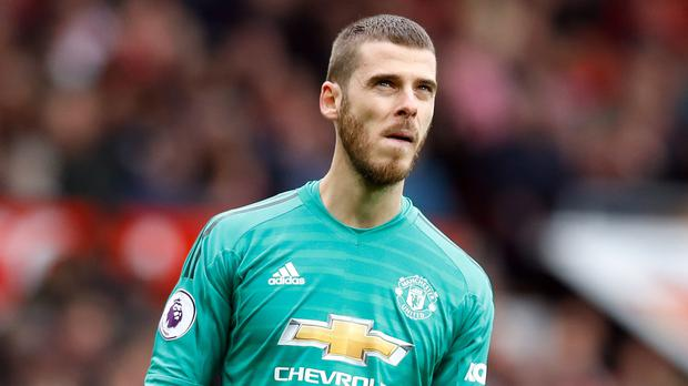 David De Gea has made a series of mistakes in recent weeks (Martin Rickett/PA)