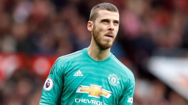 David De Gea has made a number of mistakes in recent weeks (Martin Rickett/PA)