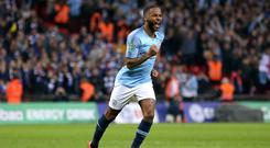 Raheem Sterling has been labelled an 'inspiration' (Nigel French/PA)