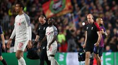 Liverpool's Naby Keita is out for two months (Nick Potts/PA)