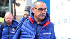 Maurizio Sarri was pleased with Chelsea's second-half display (Adam Davy/PA)