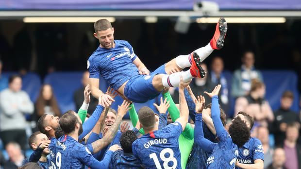 Chelsea's Gary Cahill came on as a late substitute against Watford (Adam Davy/PA Images)