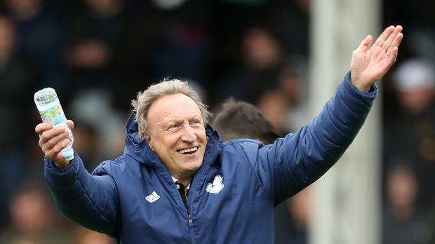 Cardiff manager Neil Warnock is set to stay at the club after receiving the backing of owner Vincent Tan. (Steve Paston/PA)